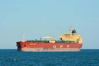 The Oil Tanker Summit Africa Art Print