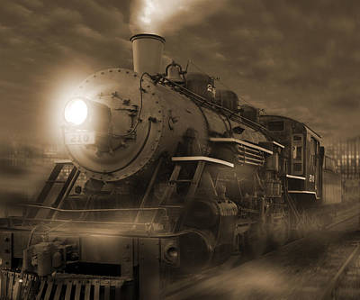 Iron Photograph - The Old 210 by Mike McGlothlen