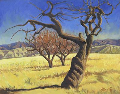 The Old Apple Tree Art Print