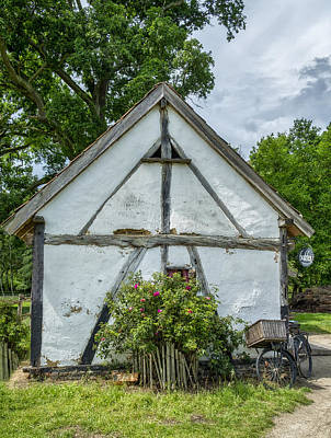 Photograph - The Old Bakery In Belgium by Jeremy Lavender Photography
