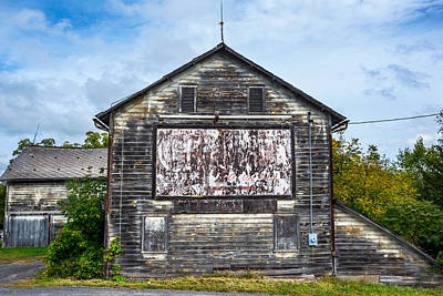 Photograph - The Old Barn by Andrew Kazmierski