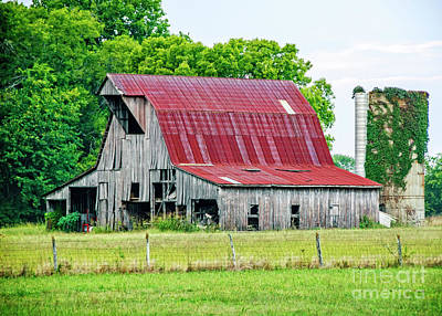 The Old Barn Art Print by Charles Dobbs