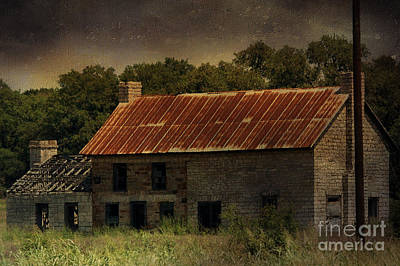 Photograph - The Old Barn by Jill Smith