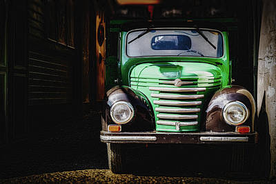 Photograph - The Old Beer Truck by Pixabay
