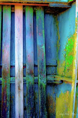 Photograph - The Old Blue Boat by Craig Perry-Ollila