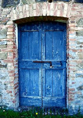 Photograph - The Old Blue Door by Dorothy Berry-Lound