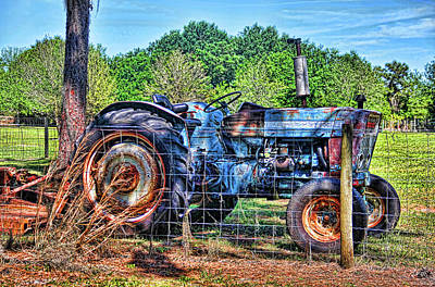 Photograph - The Old Blue Workhorse by HH Photography of Florida