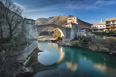 Photograph - The Old Bridge by Sead Sasivarevic