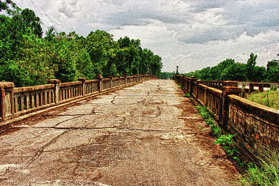 The Old Bridge To Nowhere Art Print by Frank Feliciano