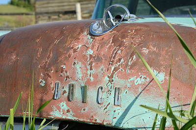 Photograph - The Old Buick by Jenessa Rahn