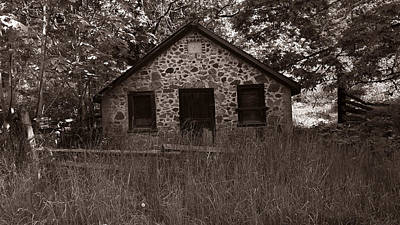 Photograph - The Old Butter Barn by Mark Alan Perry