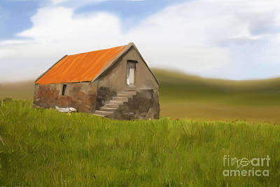 Photograph - The Old Byre by Diane Macdonald