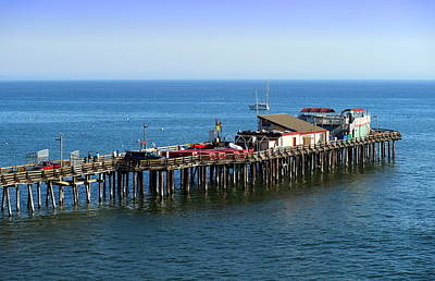 Photograph - The Old Capitola Pier by Joyce Dickens