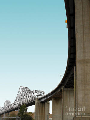The Old Carquinez Bridge . 7d8832 Art Print