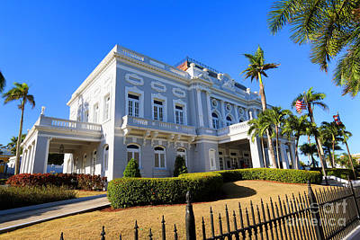 Photograph - The Old Casino In Old San Juan by Steven Spak