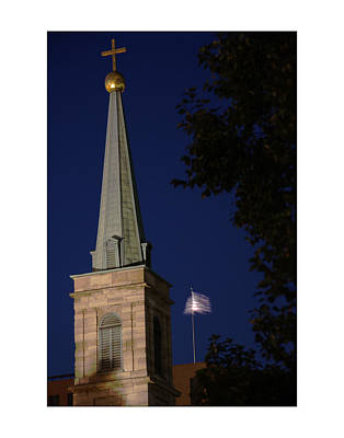 Photograph - The Old Cathedral - St. Louis by David Coblitz