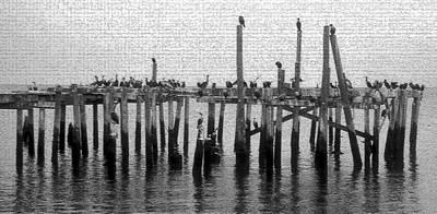 Cedar Key Photograph - The Old Cedar Key Pier by David Lee Thompson