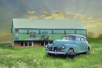 Photograph - The Old Chevy by Lori Deiter