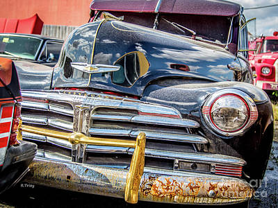 Photograph - The Old Chevy That Never Made It To The Levy by Rene Triay Photography