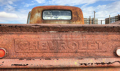 Photograph - The Old Chevy Truck by JC Findley
