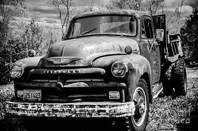 Photograph - The Old Chevyolet Truck by Alana Ranney