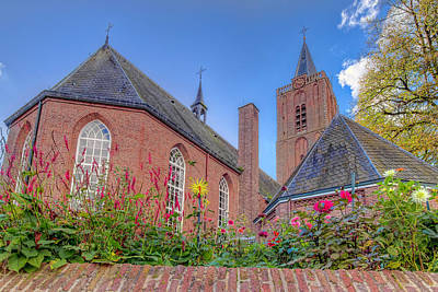 Photograph - The Old Church Of Soest by Nadia Sanowar