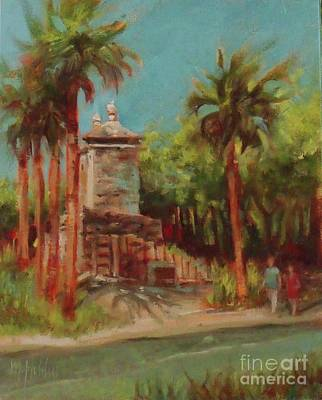 Painting - The Old City Gate by Mary Hubley