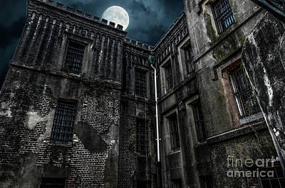 Photograph - The Old City Jail by Dale Powell