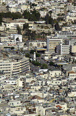 Photograph - The Old City Of Nablus 2 by Isam Awad