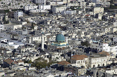 Photograph - The Old City Of Nablus 3 by Isam Awad