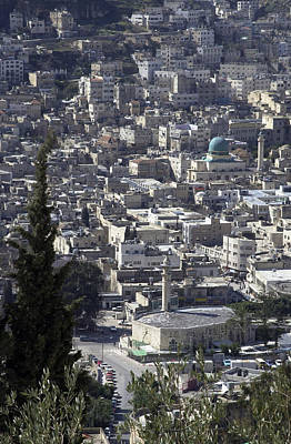 Photograph - The Old City Of Nablus by Isam Awad