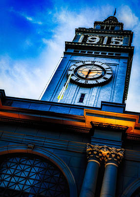 The Old Clock Tower Art Print