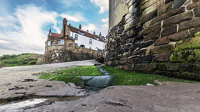 The Old Coast Guard Station At Robin Hoods Bay Print by Keith Sayer