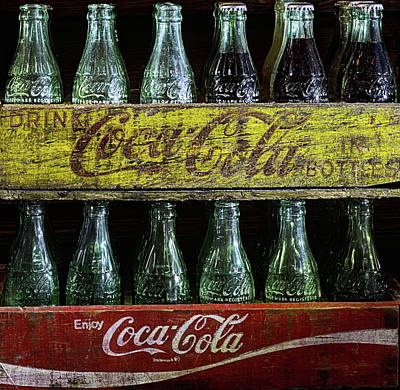 Cocacola Photograph - The Old Coke Stack by JC Findley