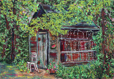 Painting - The Old Cookhouse by Diana Wade
