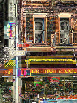 Photograph - The Old Corner Market by Miriam Danar