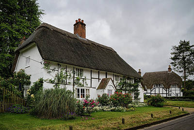 Photograph - The Old Cottage Micheldever by Shirley Mitchell