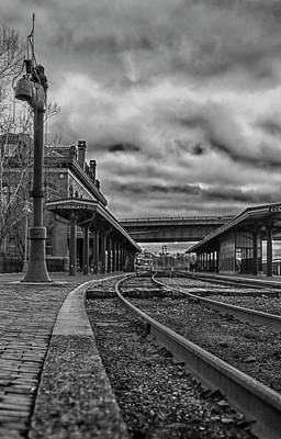 Photograph - The Old Cumberland Train Station by Amber Kresge