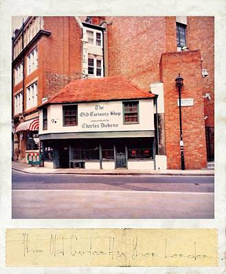 Photograph - The Old Curiosity Shop by Mark Taylor