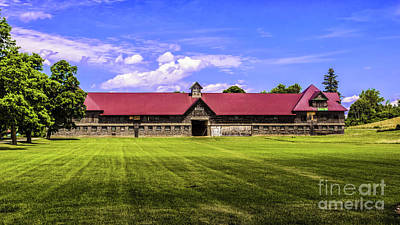 Photograph - The Old Dairy Barn by Scenic Vermont Photography