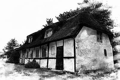 Photograph - The Old Danish Cottage by Karen McKenzie McAdoo
