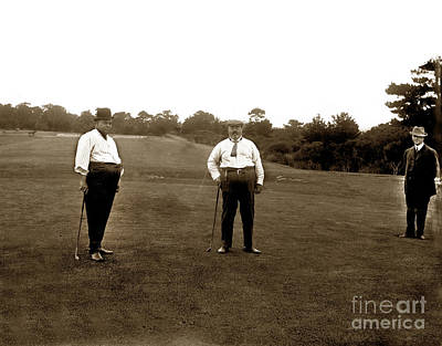 Photograph - The Old Del Monte Golf Course  Circa 1900 by California Views Mr Pat Hathaway Archives