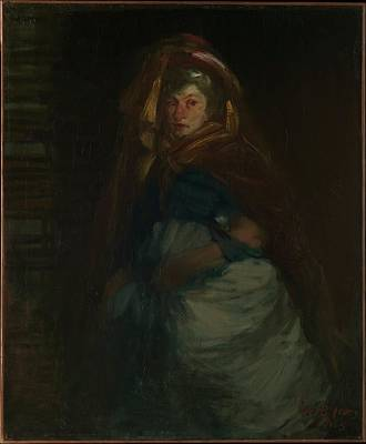 The Old Duchess Original by George Luks