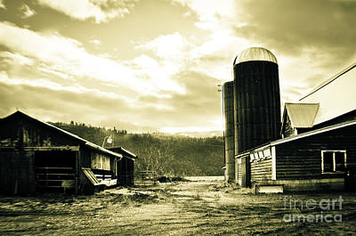 Photograph - The Old Farm by Clayton Bruster