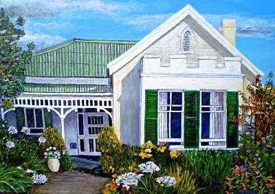 The Old Farm House Art Print by Michael Durst