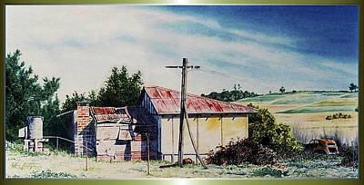 Painting - The  Old  Farmhouse... by Hartmut Jager