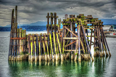 Photograph - The Old Ferry Landing by Richard J Cassato