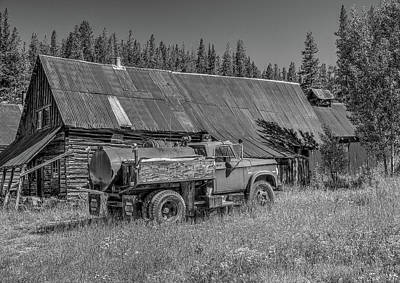 Photograph - The Old Fire Truck by Richard J Cassato