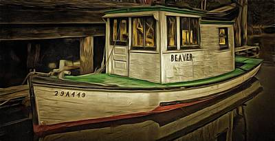 Photograph - The Old Fishing Boat by Thom Zehrfeld