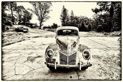 Photograph - The Old Ford by Tom Kelly